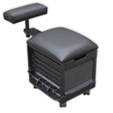 Pedicure Roll Cart w/Footrest product image