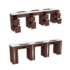 Triple Manicure Table product image