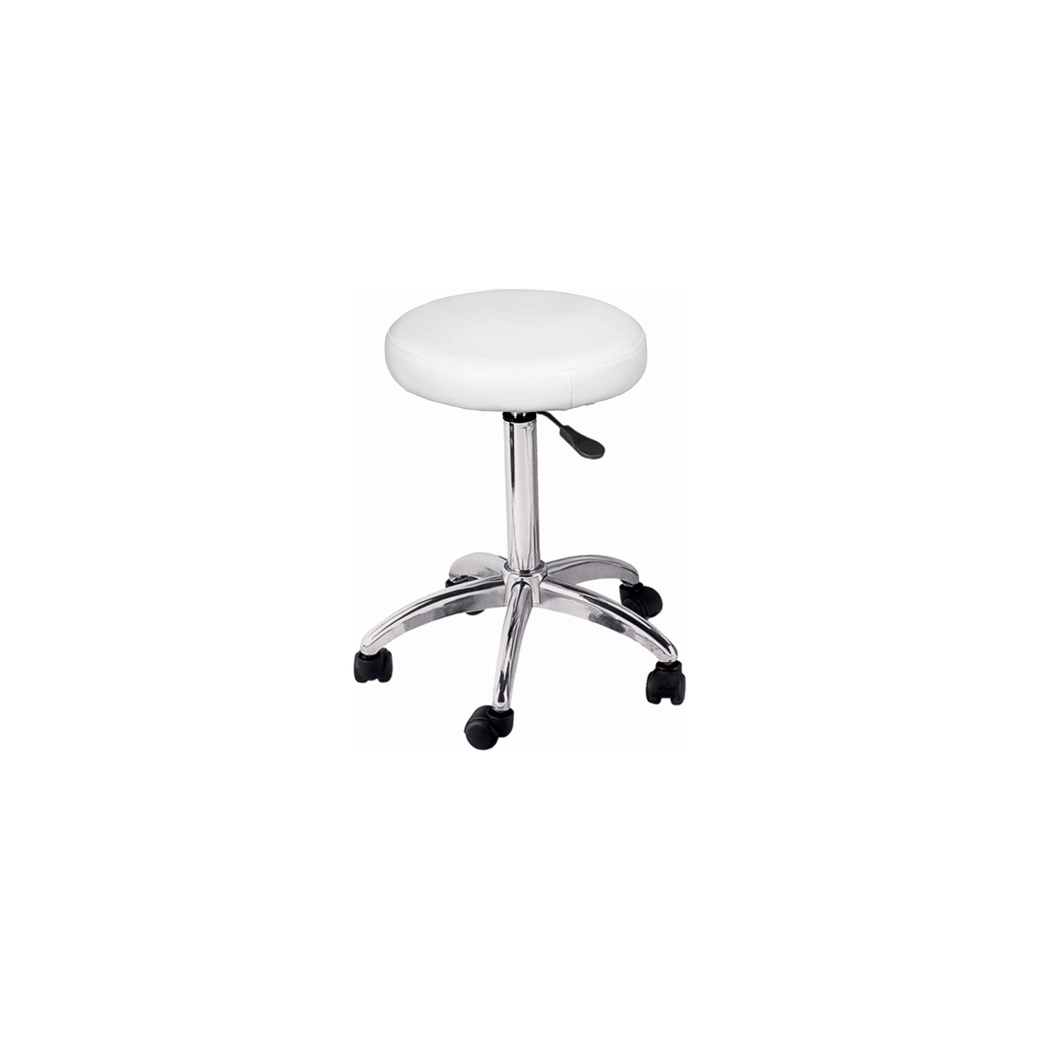 Adjustable Round Stool on Wheels  main product image