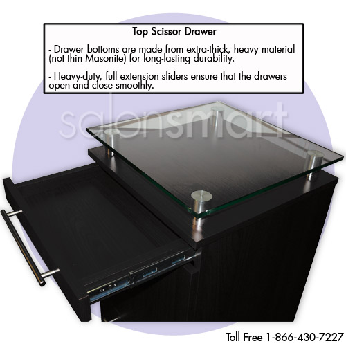 Black Amy Station with Tilt-Out Tool Drawer alternative product image 7