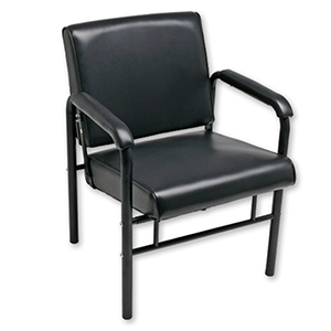 Auto-Recline Shampoo Chair with Black Frame product image