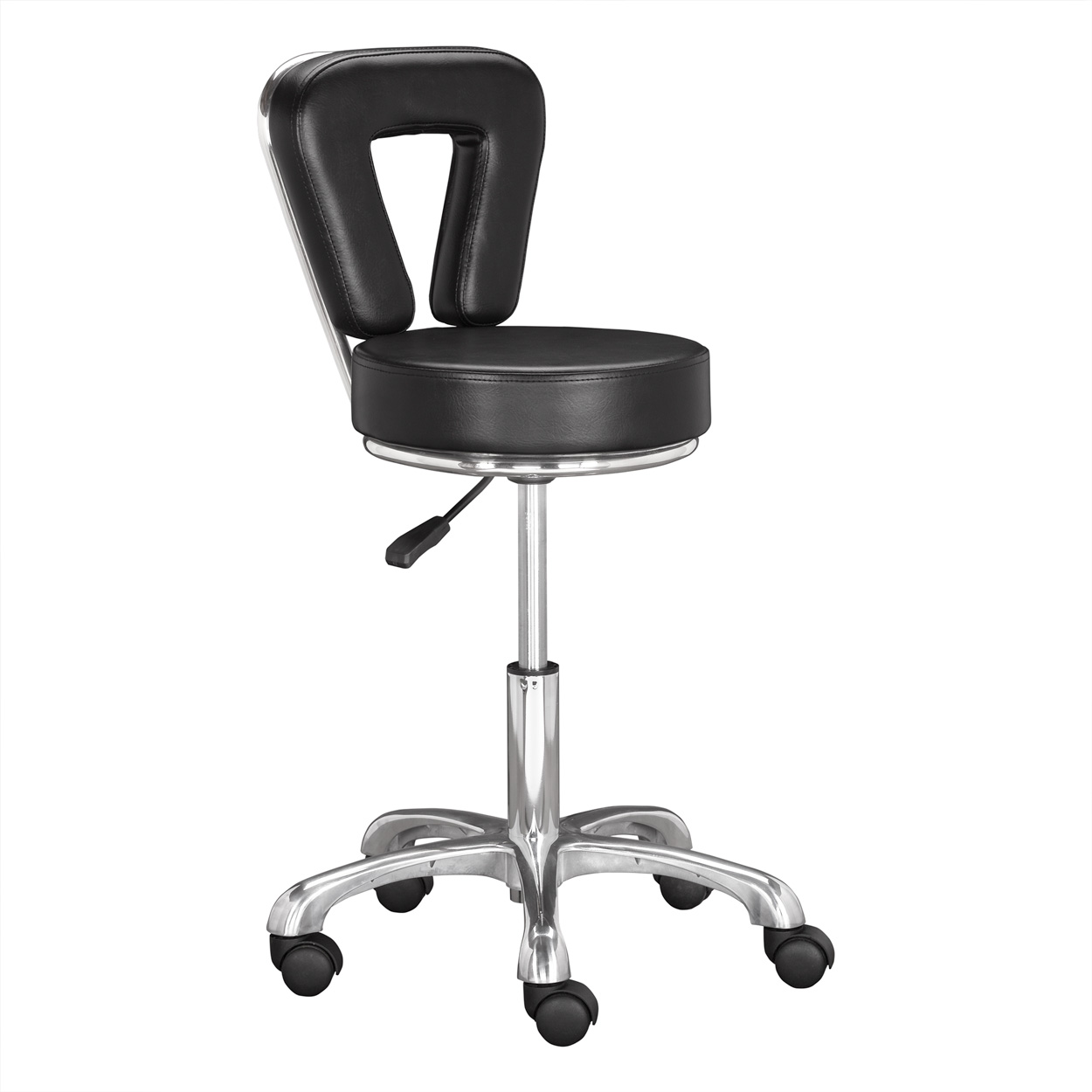 Black Nile Manicure Technician Stool  main product image