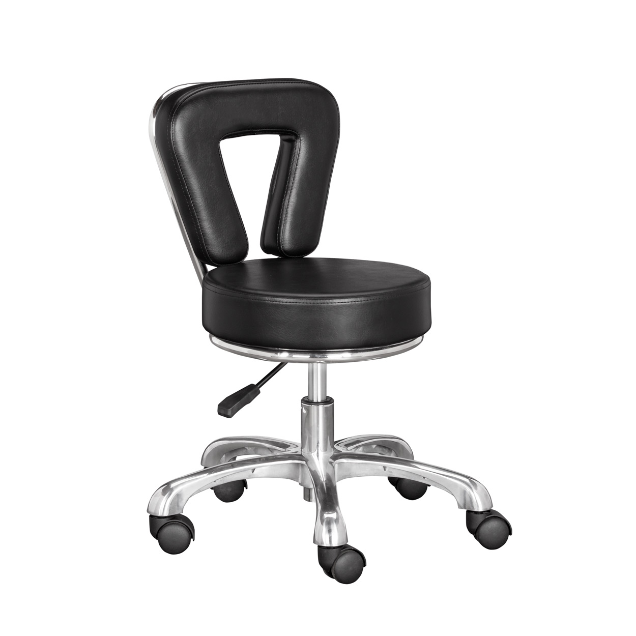 Black Nile Pedicure Technician Stool  main product image