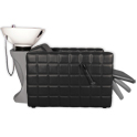 Chelsea Quilted Shampoo Unit in Black product image