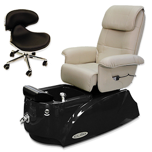 Cleo Day Spa Pipeless Pedicure Chair product image