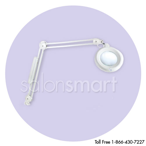 Daylight Slimline Magnifying Lamp in Chrome or White alternative product image 2