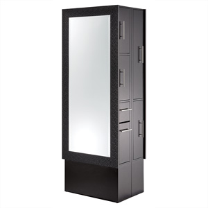 Double-Sided Diamond Framed Mirror Styling Station product image