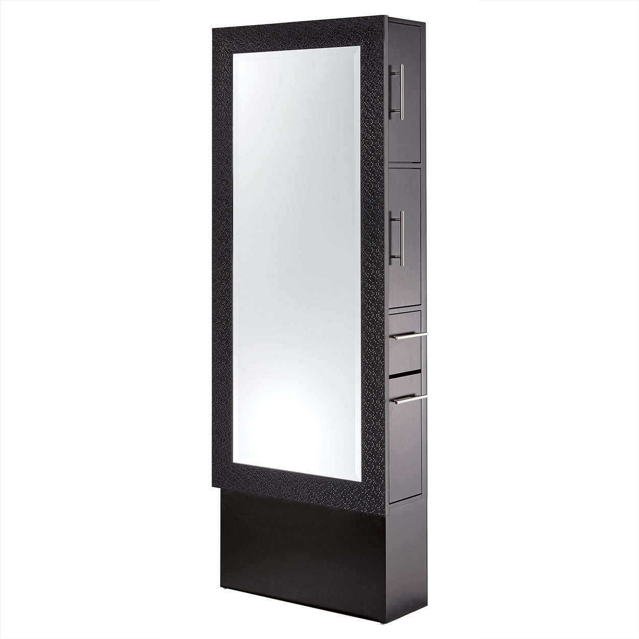 Diamond Framed Mirror Styling Station On Base  main product image