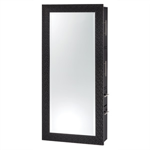 Diamond Framed Mirror Wall Hanging Styling Station product image