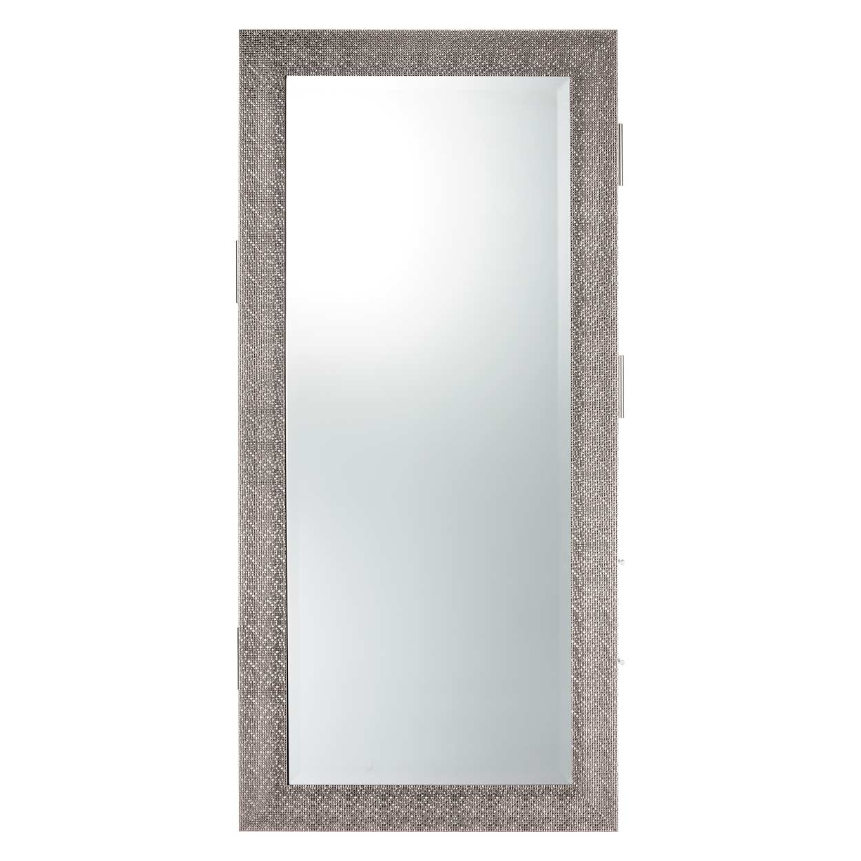 Diamond Framed Mirror Wall Hanging Styling Station alternative product image 4