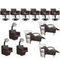 Havana Basics Brown Collection - Six Stations product image