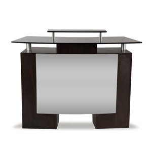 Glass Top Reception Desk product image