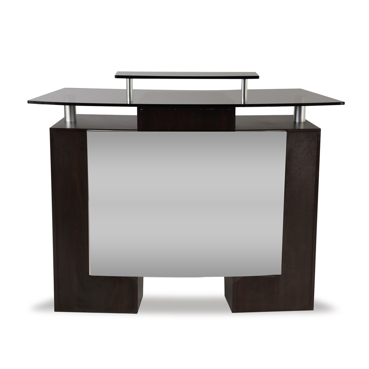 Glass Top Reception Desk  main product image