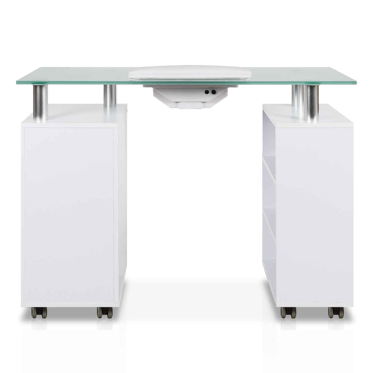Glass Top Manicure Table with Fan alternative product image 2