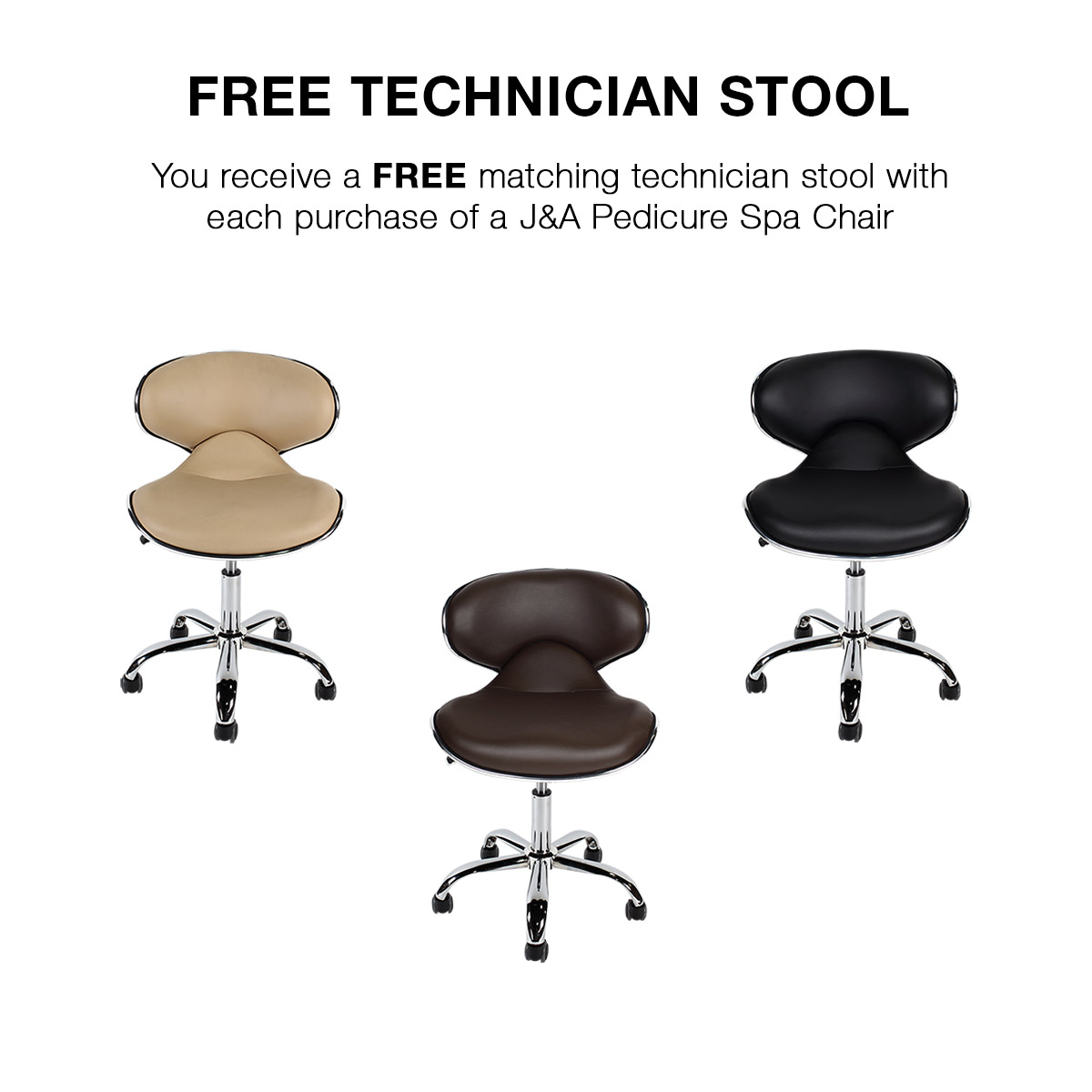 J & A Petra RMX Pipeless Whirlpool Pedicure Spa Chair alternative product image 3