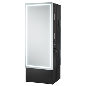 Double-Sided LED Lighted Mirror Styling Station product image