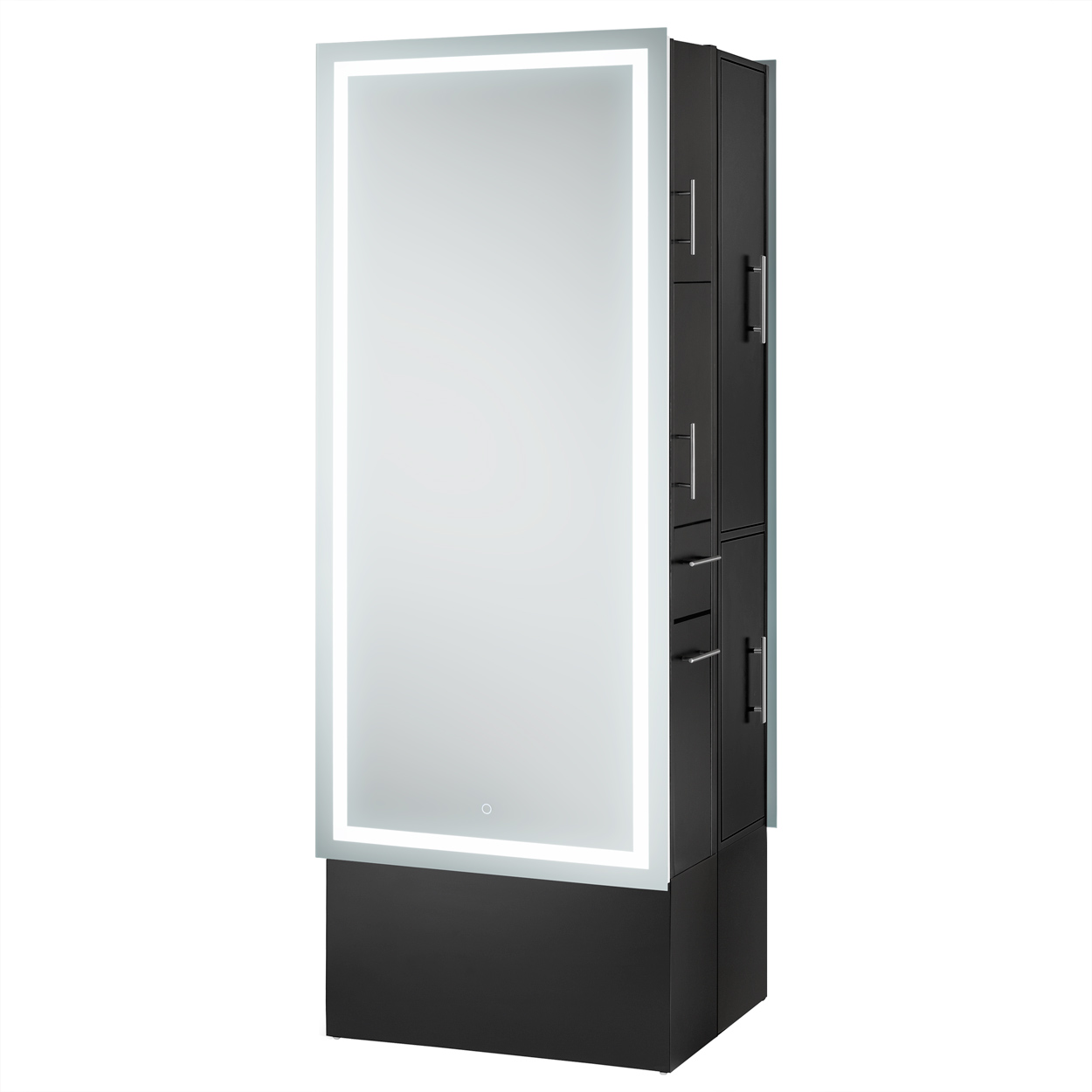 Double-Sided LED Lighted Mirror Styling Station  main product image