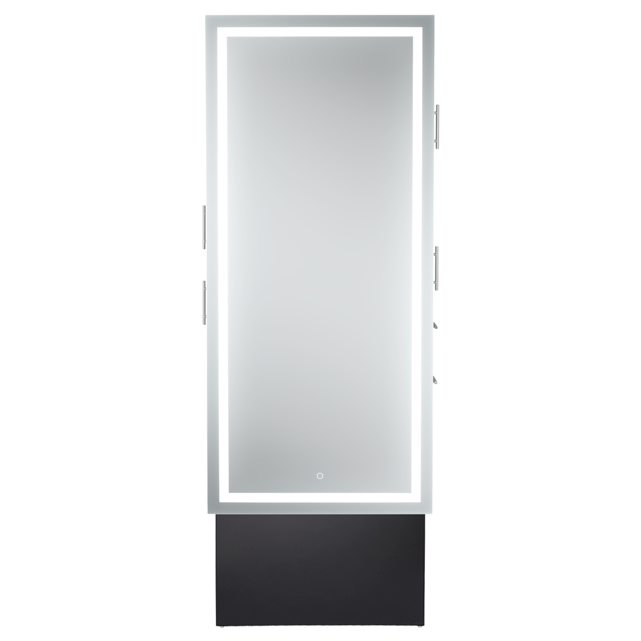 Double-Sided LED Lighted Mirror Styling Station alternative product image 1