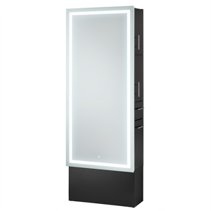 LED Lighted Mirror Styling Station on Base product image