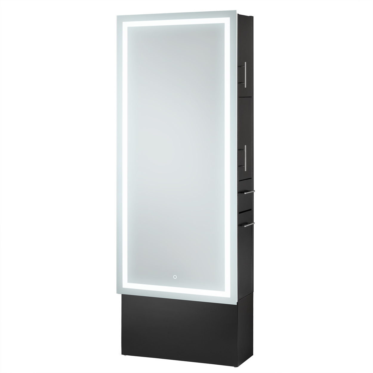 LED Lighted Mirror Styling Station on Base  main product image