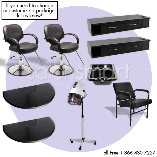 Salon Furniture Packages Hair Salon Equipment Groups