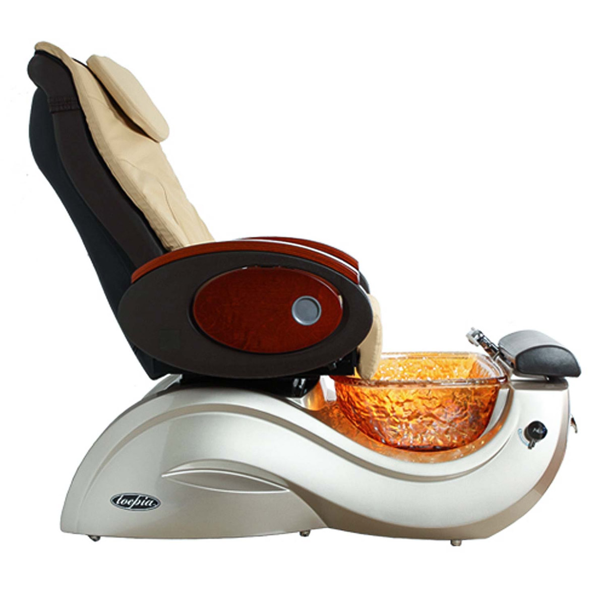 Toepia GX Pipeless Pedicure Spa Chair w/Vented Option alternative product image 10