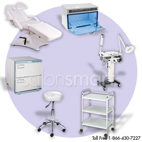 Premium Aesthetic Package with Facial Bed & Machine Essentials  main product image