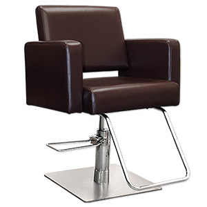 Havana Styling Chair in Chocolate Brown product image