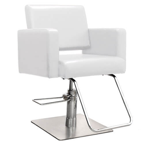 Havana Hair Salon Styling Chair in White alternative product image 3