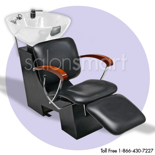 Delano Shampoo Unit with White Bowl and Vacuum Breaker image size reference