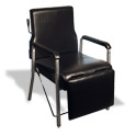 Manual Recline Shampoo Chair with Leg Lifts product image