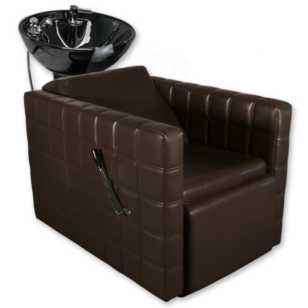 Chelsea Quilted  Shampoo Unit in Brown alternative product image 7