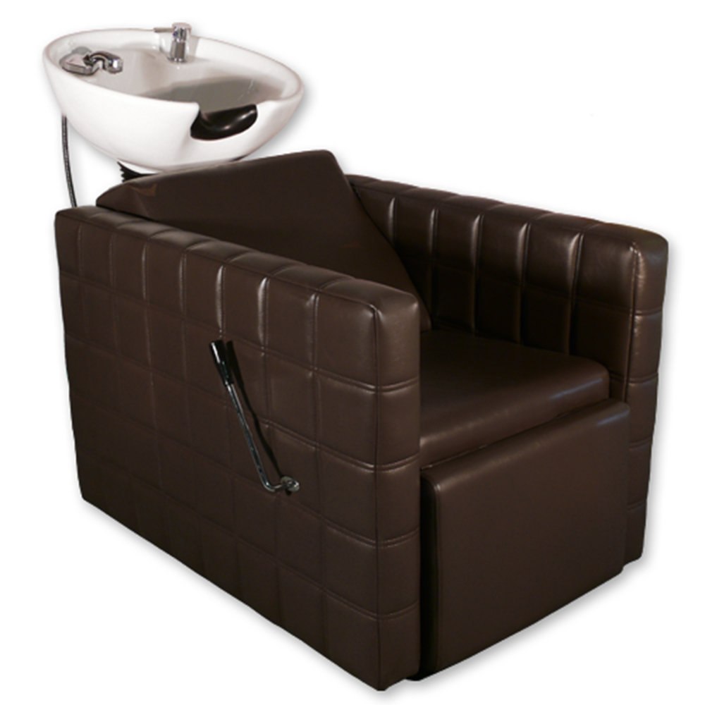 Chelsea Quilted  Shampoo Unit in Brown alternative product image 5