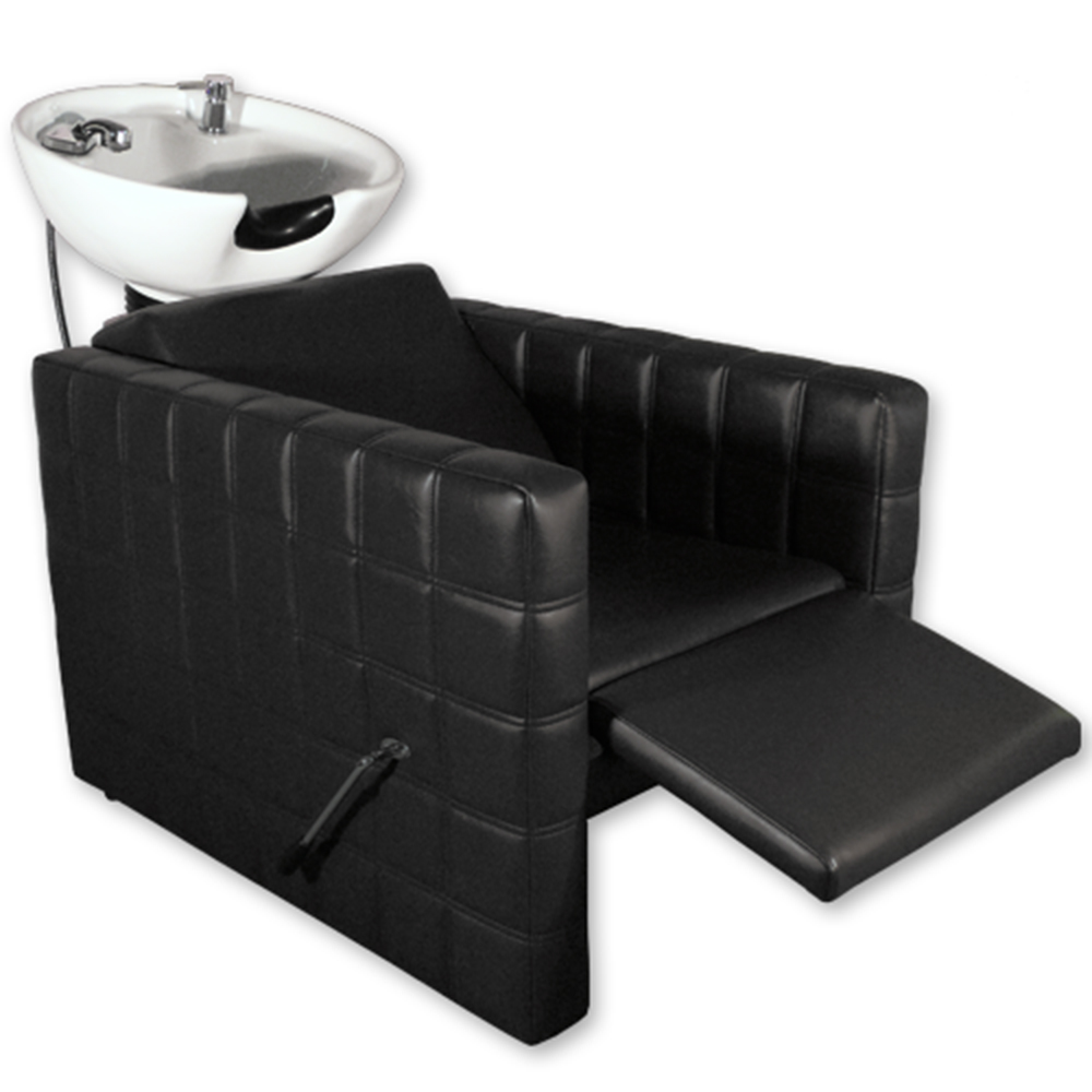 Chelsea Quilted Shampoo Unit in Black alternative product image 4