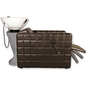 Chelsea Quilted  Shampoo Unit in Brown product image
