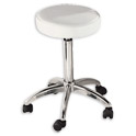 Adjustable Round Stool on Wheels product image