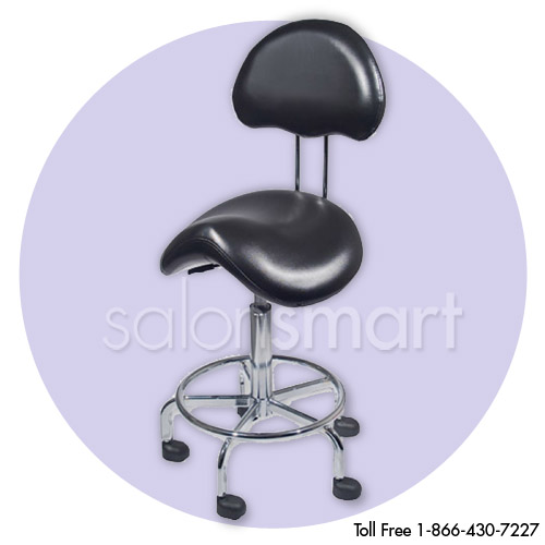 Countoured Stool with Back alternative product image 1