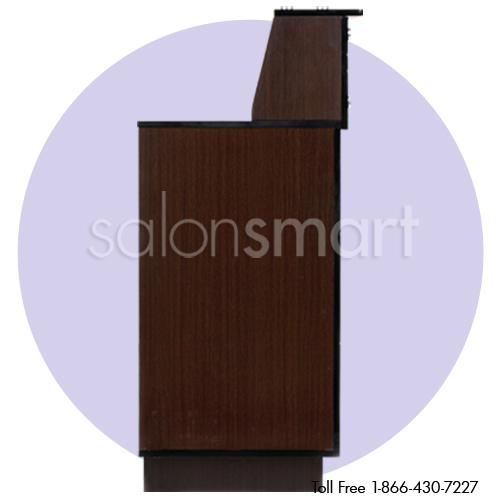 Stanford Reception Desk Wood Finish alternative product image 3