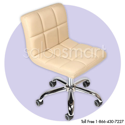 J&A Cookie Technician/Client Manicure Stool alternative product image 2