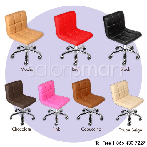J&A Cookie Technician/Client Manicure Stool alternative product image 7