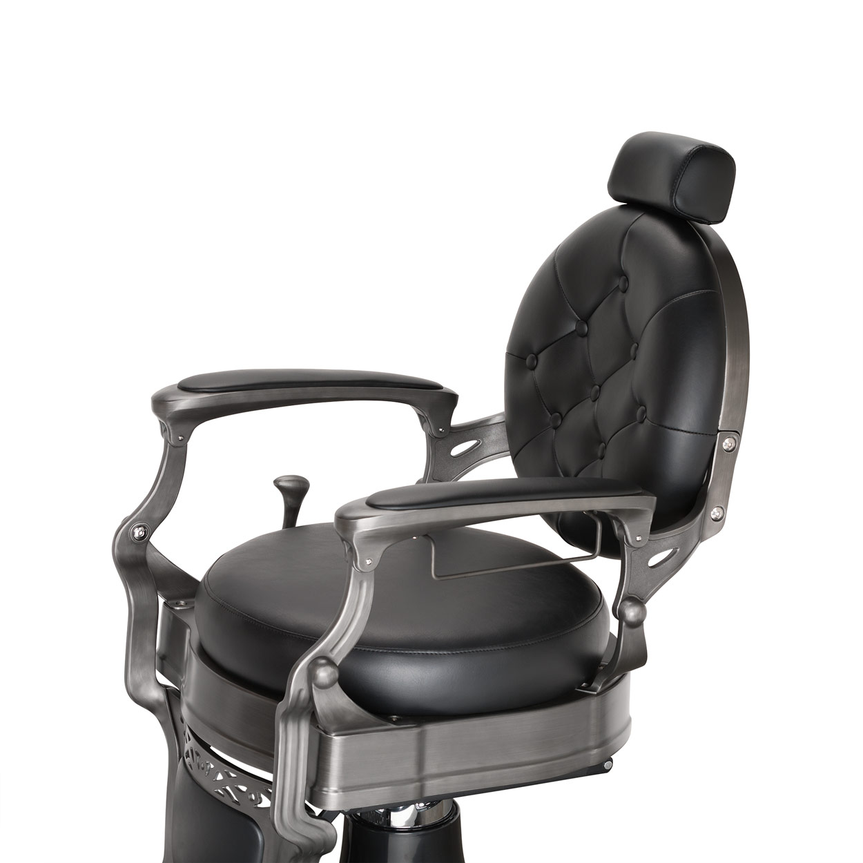 Wexford Vintage Barber Chair - Gun Metal Finish alternative product image 5