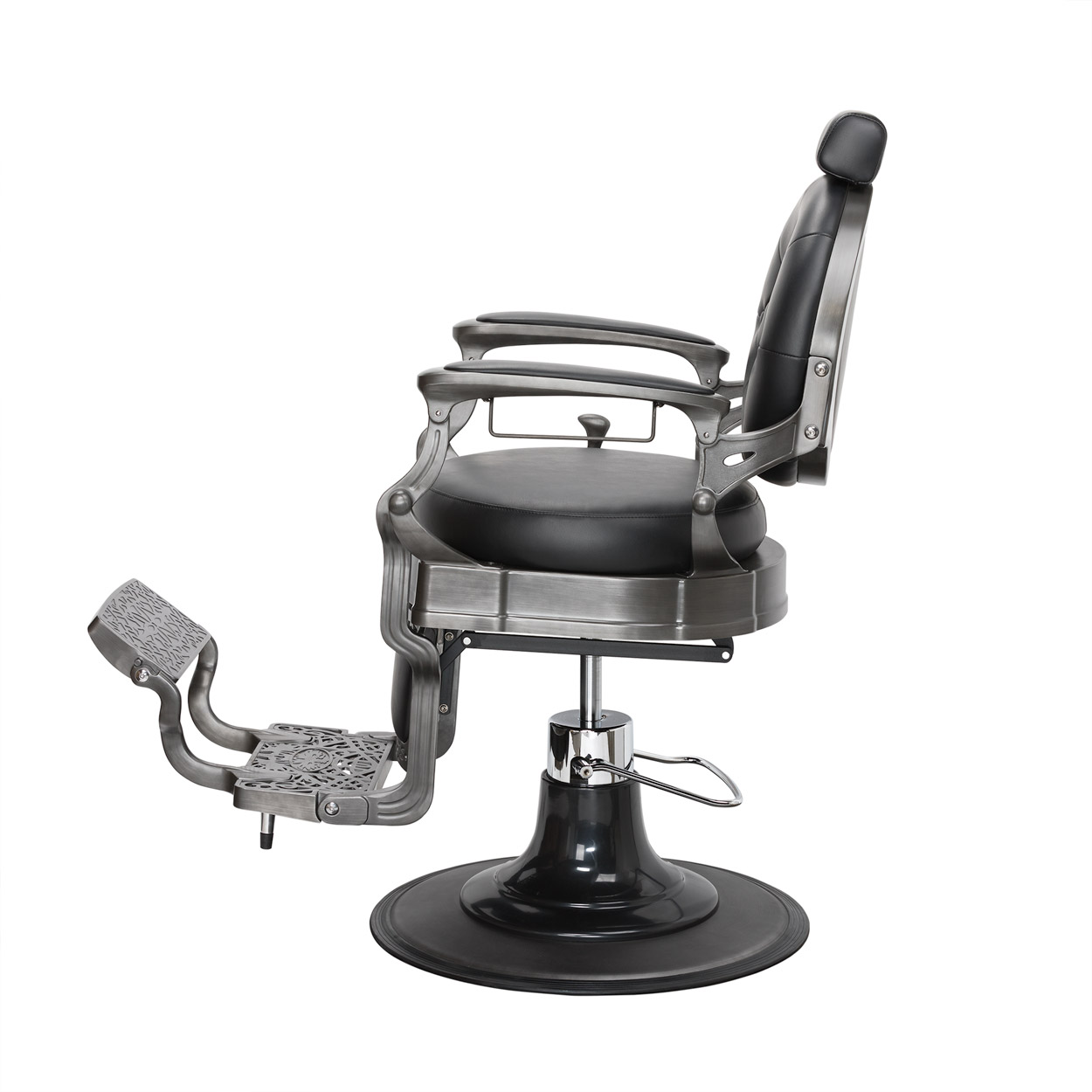 Wexford Vintage Barber Chair - Gun Metal Finish alternative product image 1