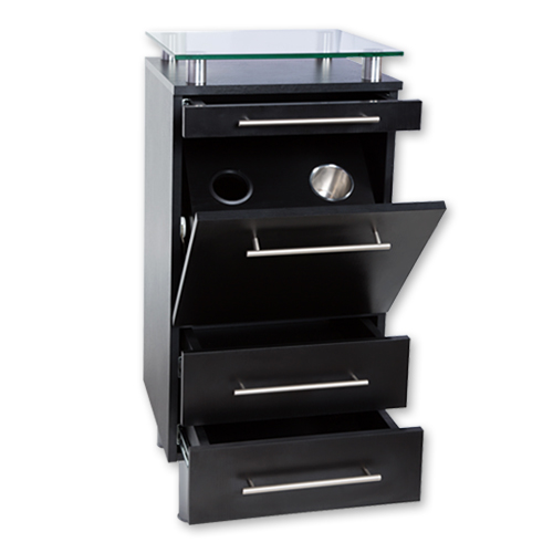 Black Amy Station with Tilt-Out Tool Drawer alternative product image 5