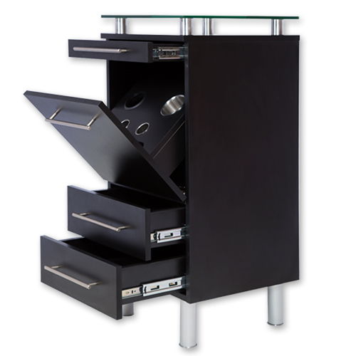Black Amy Station with Tilt-Out Tool Drawer alternative product image 4