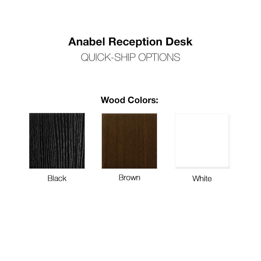 Anabel Salon Reception Desk alternative product image 5