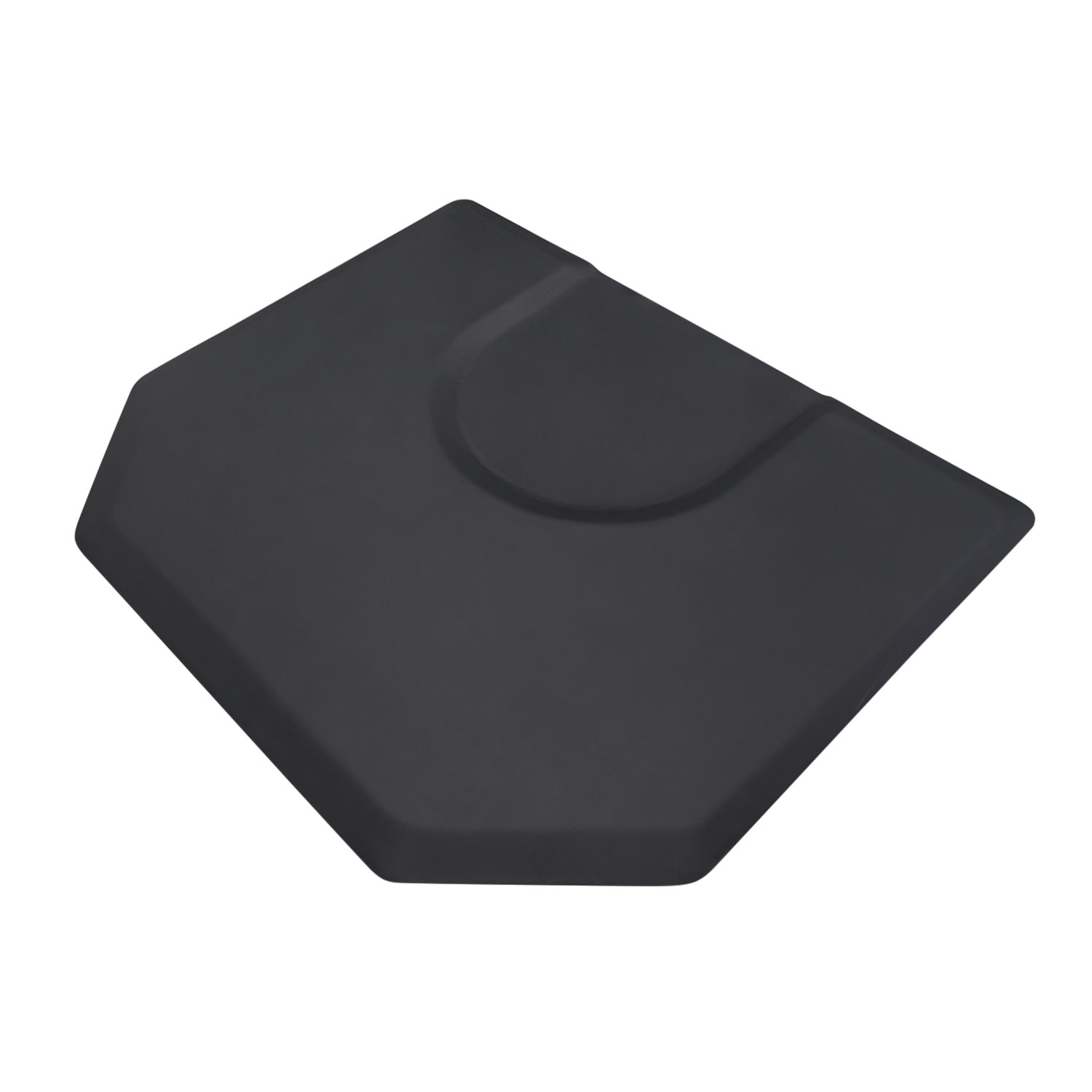 Hexagon 4x5 Salon Anti-Fatigue Mat Round Impression  main product image