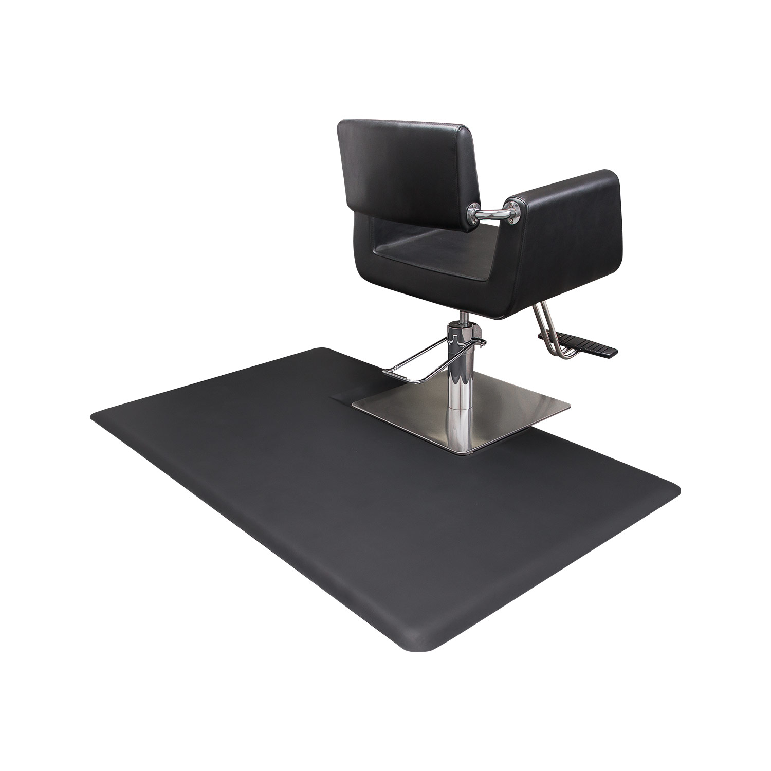 Rectangular 3x5 Anti-Fatigue Salon Chair Mat With Square Impression alternative product image 3
