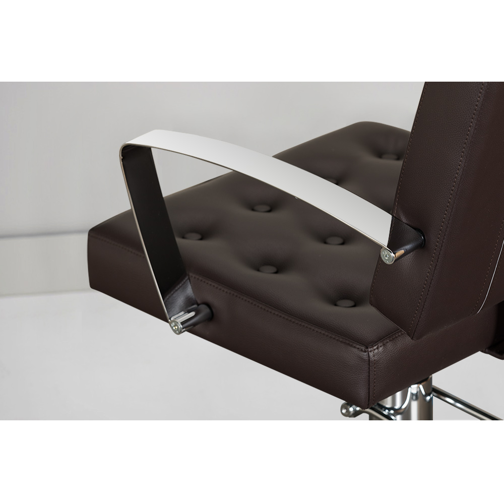 Arlene Salon Styling Chair with Italian Chrome Arms alternative product image 2