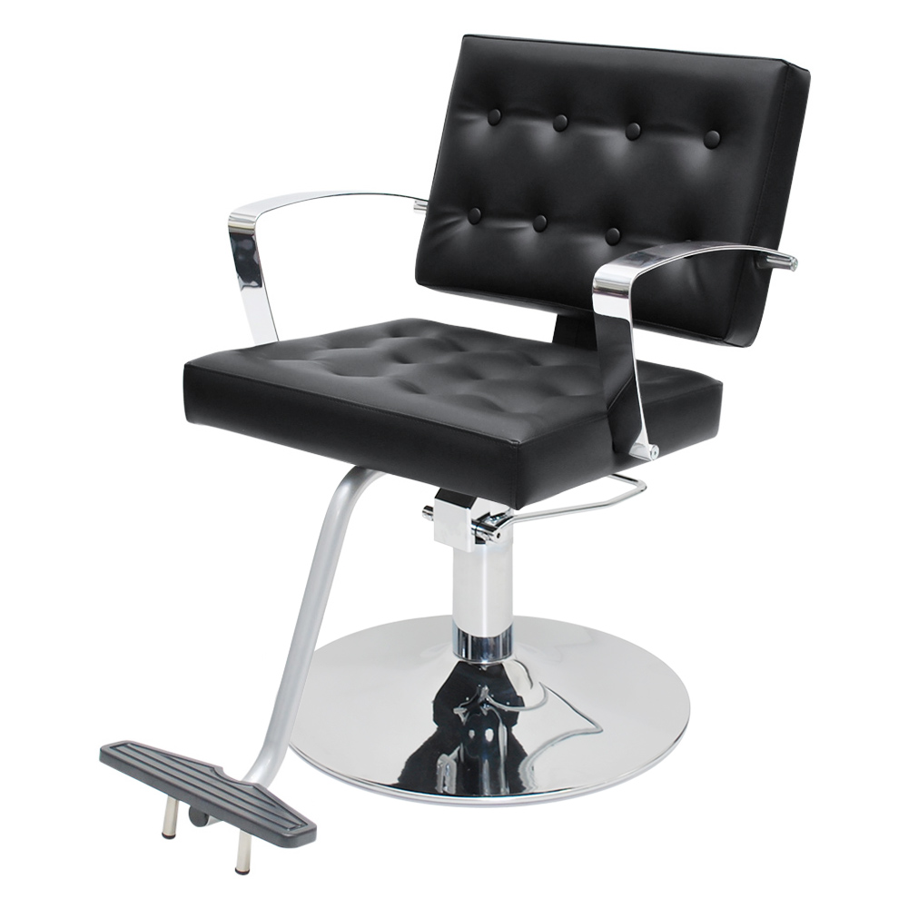 Arlene Salon Styling Chair with Italian Chrome Arms  main product image