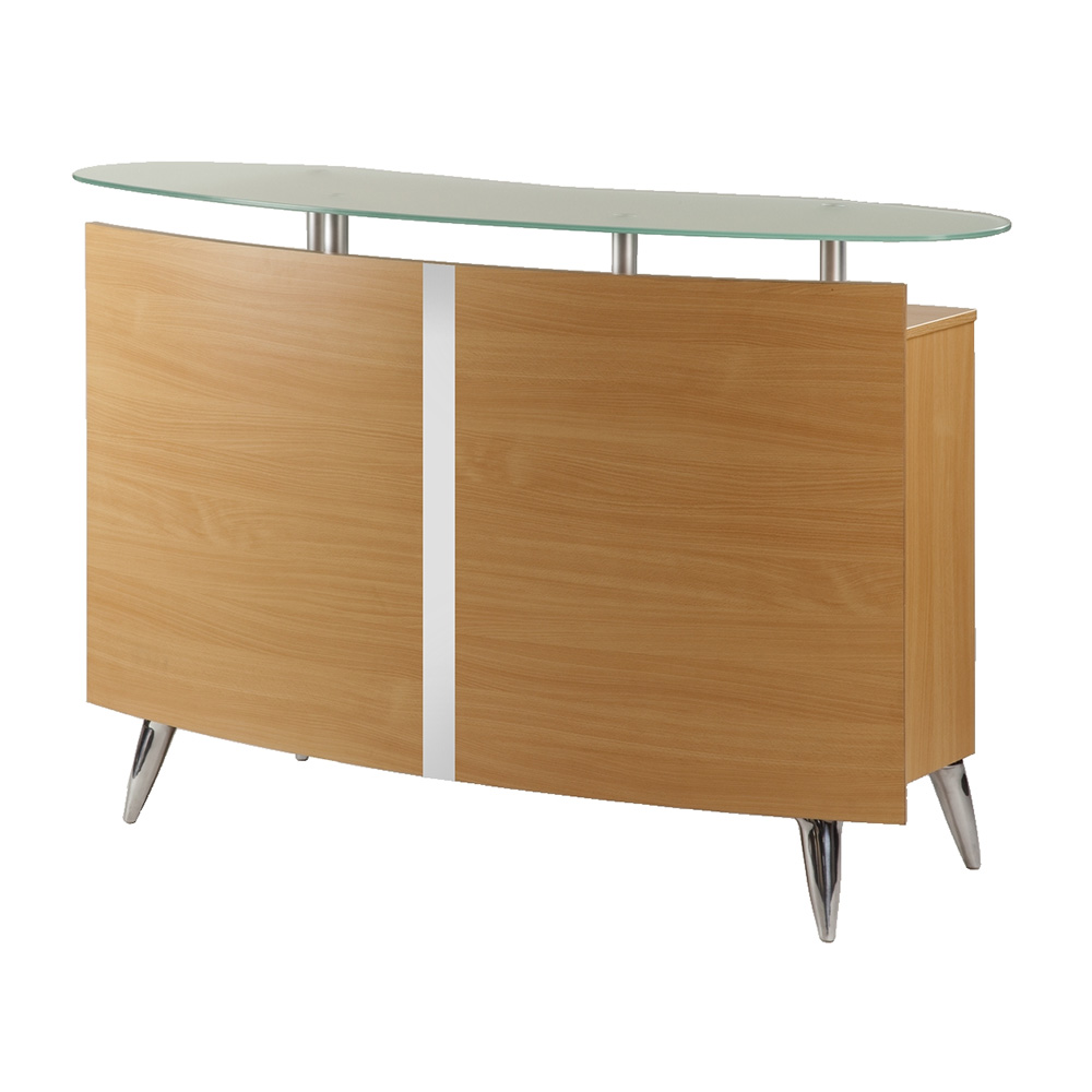 custom atlanta salon reception desk